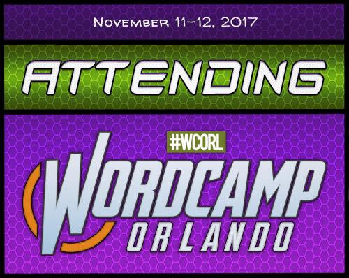 Attending WordCamp Orlando 2017 Badge