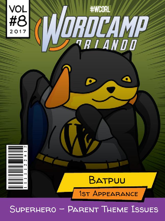 Batpuu Wapuu comic cover
