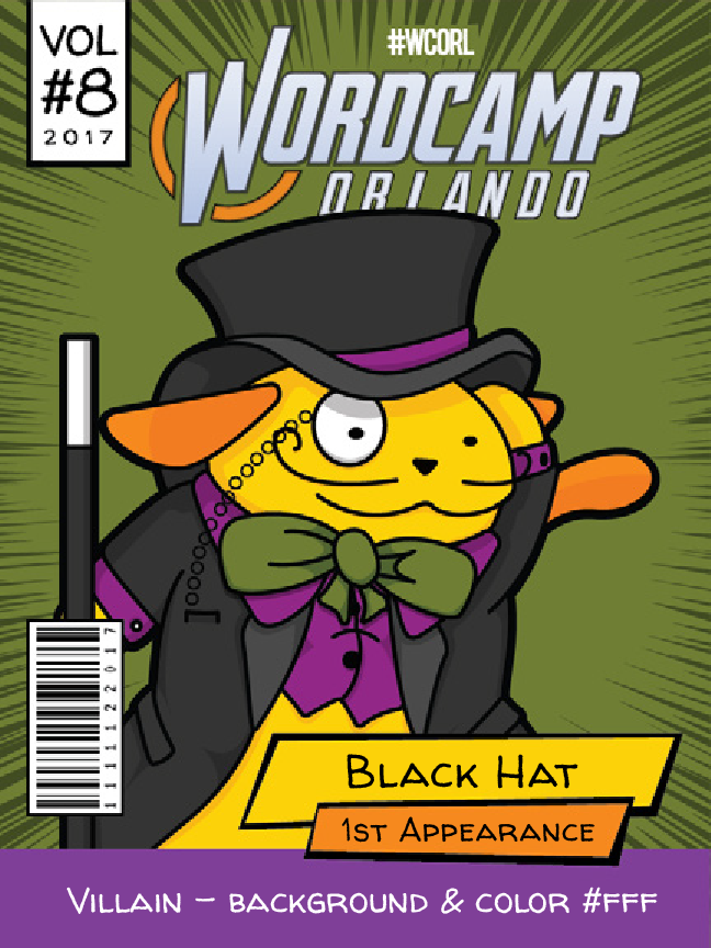 Black Hat Wapuu comic cover