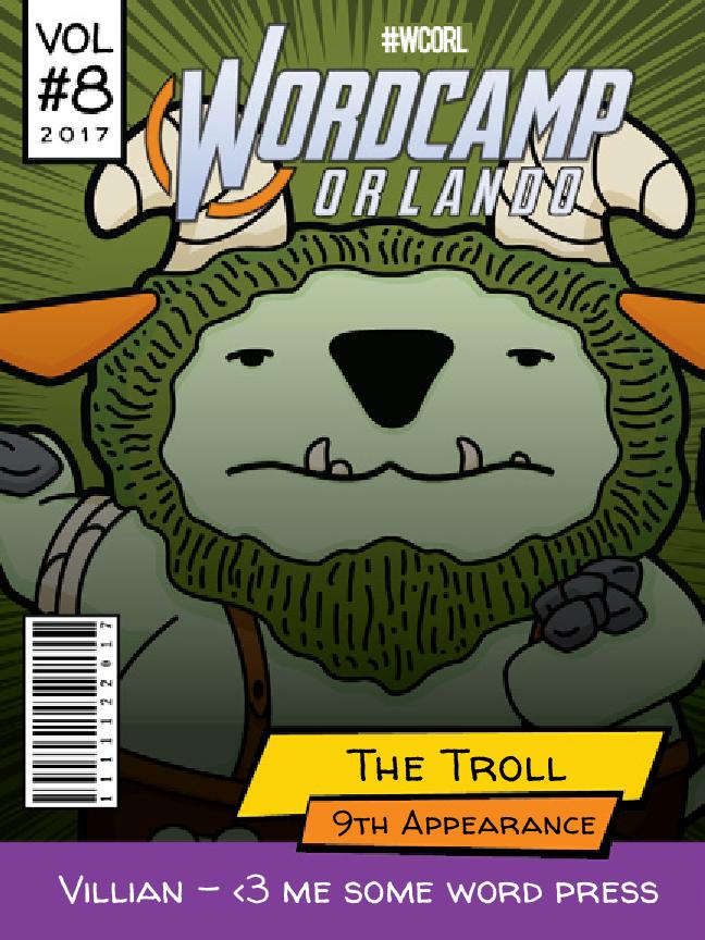 The Troll Wapuu comic cover